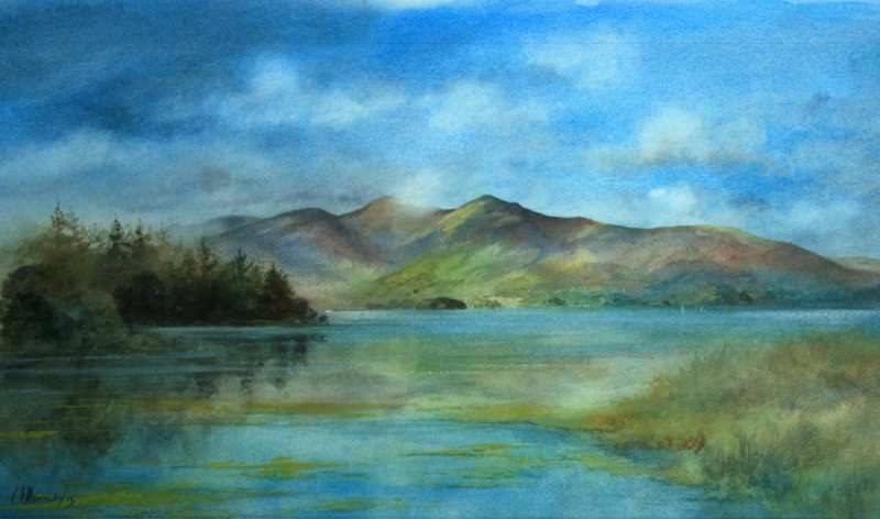 Skiddaw from Derwentwater
